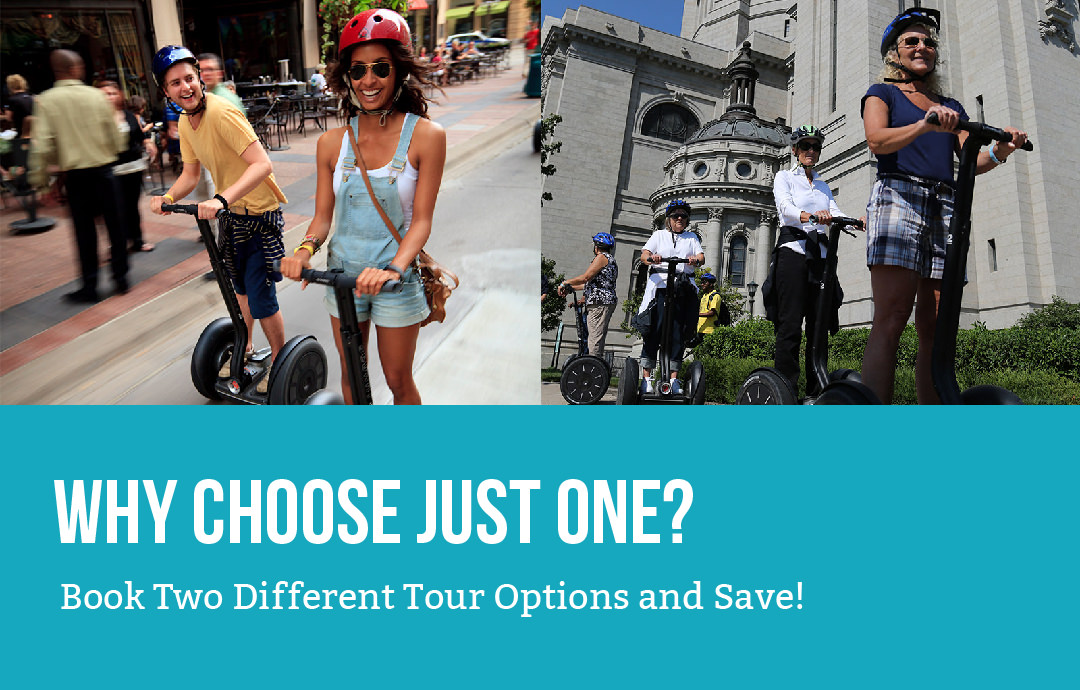 Why Choose Just One? Book Two Different Tour Options and Save!